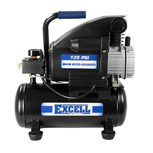 Excell L23HPE 3 Gallon Air Compressor