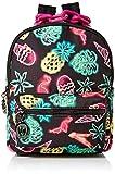 Betsey Johnson Nylon Small Backpack, Black Multi
