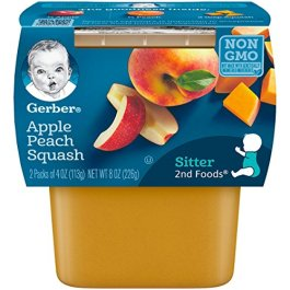 Gerber 2nd Foods Apple Peach Squash