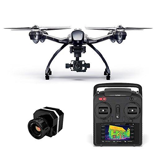 Yuneec Q500 Typhoon G Drone con Flir Vue telecamera termica Live trasmissione Quadricottero