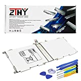 ZTHY EB-BT530FBU Battery for Samsung Galaxy Tab 4 10.1' SM-T530 SM-T530NU SM-T531 SM-T535 SM-T537 T537A T537R4 T537V T532 T533 T536 Series Tablet EB-BT530FBC EB-BT530FBE With Tools 3.8V 6800mAh