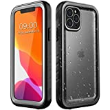 SPORTLINK Waterproof Case for iPhone 11 Pro, Full Body Heavy Duty Protection Full Sealed Cover Shockproof Dustproof Built-in Clear Screen Protector Rugged Case for iPhone 11 Pro 5.8 Inch