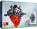Console Xbox One X 1To Édition limitée Manette Xbox Sans Fil Édition Limitée Kait Diaz Gears 5 Ultimate Edition Gears of War : Ultimate Edition et Gears of War 2, 3 et 4 1 Mois Xbox Live Gold 1 Mois Xbox Game Câble HDMI Piles LR6