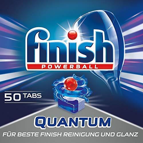 Finish Quantum, Spülmaschinentabs, XXL Pack, 1er Pack (1 x 50 Tabs)