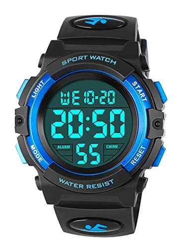 Orologi da bambino per ragazzi, orologio sportivo digitale impermeabile esterno con...