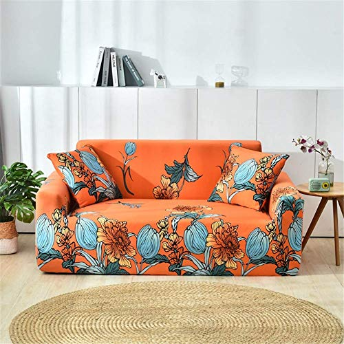nordmiex Couch Cover Stretch Arm Chair Large Sofa Slipcover for Living Room (Sofa-4 Seater, Bright...