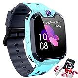 Reloj Inteligente para Niños [Tarjeta SD Incluida],Smart Watch con Reproductor de...