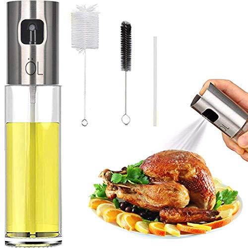 Oil Spritzer Mister for Air Fryer Olive Oil Sprayer Cooking Bottle for Vinegar Canola Vegetable Oil Portable Mini...