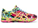 ASICS Women's Gel-Noosa Tri 11 Running Shoe, Hot Pink/Flash Yellow/Black, 7 M US