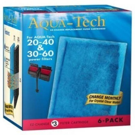 AquaTech 20/40 and 30/60 Filter Cartridge, 6 pack