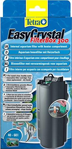 Tetra EasyCrystal Aquarium Filterbox 300 - Filter für kristallklares gesundes Wasser, einfache Pflege, intensive mechanische, biologische und chemische Filterung