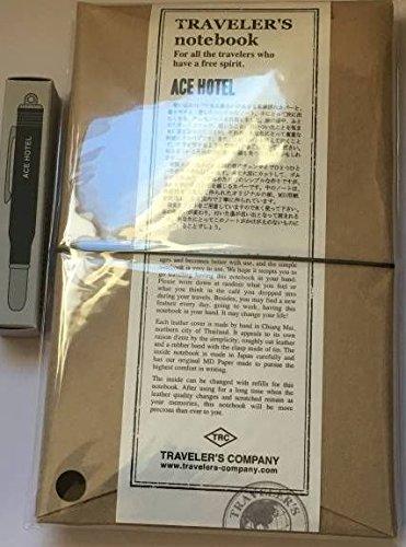 トラベラーズファクトリー トラベラーズノート 黒 ACE HOTELセット