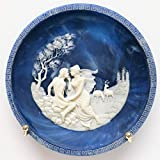 Bradford Exchange Incolay Cameo Collector Plate The Voyage of Ulysses The Isle of Circe by Alan Brunettin CP526
