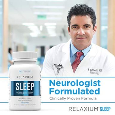 Relaxium-Natural-Sleep-Aid-Non-Habit-Forming-Sleep-Supplement-for-Longer-Sleep-Stress-Relief-wMagnesium-Melatonin-GABA-Chamomile-Valerian-60-Vegan-Capsules-30-Day-Supply