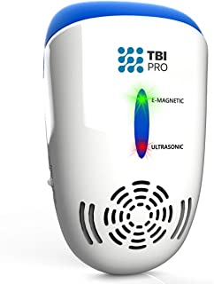TBI Pro Ultrasonic Pest Repeller Wall Plug-in – Electromagnetic and Ionic Indoor..