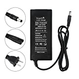 tangsfire 36V Lithium Battery Charger Output 42V 2A for Electric Bike Batteries Pack DC 5.5mm2.1mm11mm Plug
