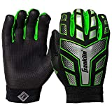 Franklin Sports Youth Receiver Gloves (Medium) (Assorted color)