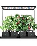 iDOO Huerto de Interior con LED Lámpara de Planta, 68cm Altura Ajustable,...