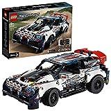 LEGO Technic - R-Car Auto da Rally Top Gear Telecomandata tramite l'App CONTROL+, Alimentata da Smart Hub con Motore XL e L, Modello Azionato tramite un Dispositivo Intelligente con 3 Schermi, 42109