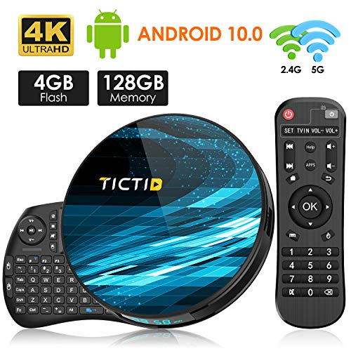 Android TV BOX, TICTID T8 MAX Android 10.0 TV Box...