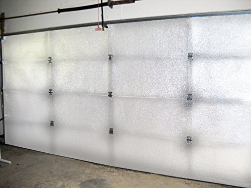 NASA Tech Reflective Foam Core Garage Door Insulation Kit 9L x 7H