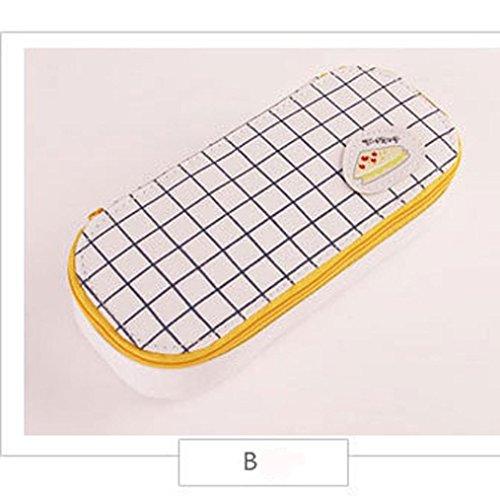 Hunpta cute Kawaii 3D Fashion matita di grande capacit, materiale scolastico novelty item for Kids B