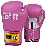 Benlee Rocky Marciano Rodney - Guante de boxeo (PVC), color rosa/blanco, talla 12