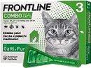 Frontline   Combo Spot On Gatti e Furetti   Protezione da pulci, pidocchi, zecche, uova e larve di pulci   3 Pipette   0.5 ml