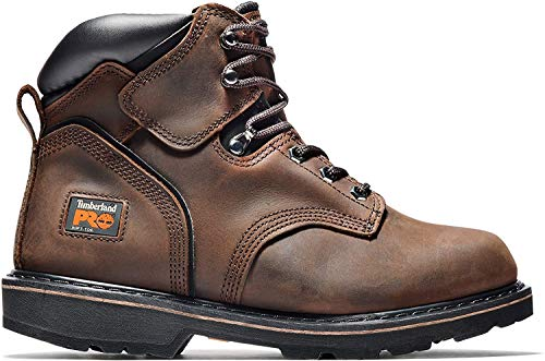 Timberland PRO Men's Pitboss 6' Steel-Toe Boot, Brown , 11.5 D - Medium