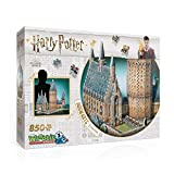 Wrebbit 3D-El Gran Salón de Hogwarts Puzzle 3D, Multicolor (W3D-2014)