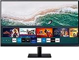 Samsung Smart M7 de 32 pulgadas LS32AM702URXEN con Tecnología 4K UHD (3840x2160), Altavoces, conectividad Móvil, Mando a Distancia, USB-C y Aplicaciones de Smart TV (Netflix, Prime TV, YouTube)