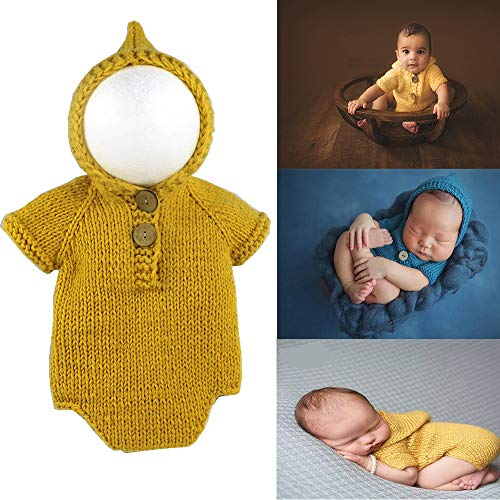 Newborn Baby Photography Props Costumes Outfits Infant Crochet...