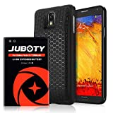 Galaxy Note 3 Battery, JUBOTY 7200mAh Extended Li-ion Battery Replacement with Back Cover TPU Case Compatible with Samsung Note 3 N9000 N9005 N900A N900V N900P N900T(24 Month Warranty)
