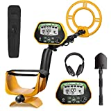 RM RICOMAX Professional Metal Detector GC-1037 [Disc & Notch & Pinpoint Modes] Metal Detector...