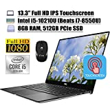 2020 Newest Dell XPS 13 7390 Laptop 13.3' Full HD IPS Touchscreen 10th Gen Intel Quad-Core i5-10210U...