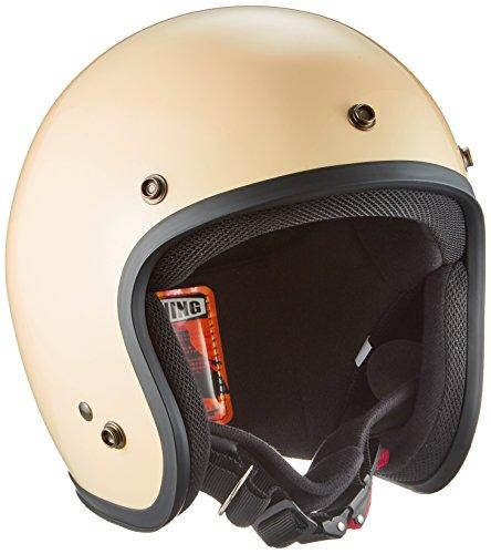 ダムトラックス(DAMMTRAX) バイクヘルメット ジェット D パールアイボリー メンズ (57cm~60cm未満)