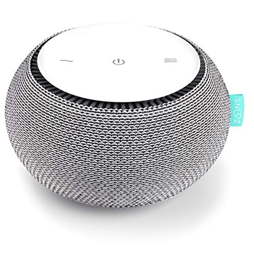 SNOOZ White Noise Sound Machine - Real Fan Inside...