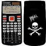 Calculadora científica Citizen SR270X SKULL, calculadora científica portátil...