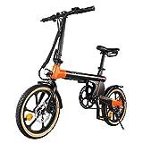 Macwheel Electric Commuter Bike, 16' Electric Bike with 250W Powerful Motor, 36V 7.5Ah Large...