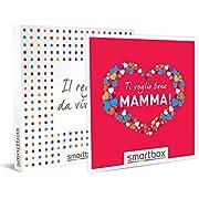 SMARTBOX - Cofanetto regalo mamma - idee regalo originale - Attività a scelta tra soggiorni, benessere, attività di gusto