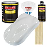 Restoration Shop - Championship White Acrylic Enamel Auto Paint - Complete Gallon Paint Kit - Professional Single Stage High Gloss Automotive, Car, Truck, Equipment Coating, 8:1 Mix Ratio, 2.8 VOC