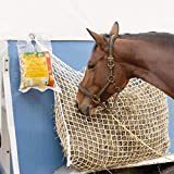 """Orgrimmar Slow Feed Hay Net Bag with Small Opening for Horse Full Day Feeding(63"""" x 40"""")"""