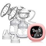 Tire-lait électrique, NEKAN Tire-lait double Pompe d'allaitement portable Pompe...