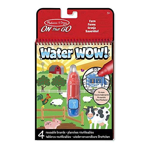 Melissa & Doug - Water Wow! Jogo de Colorir com Água: Fazenda, 3+ Anos, Multicolorido, 9232