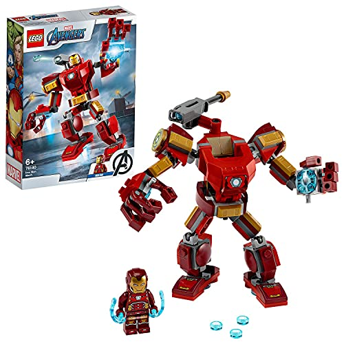 LEGO76140SuperHeroesMarvelAvengersIronManMechSpielset,Kampf-ActionfigurfürKi...