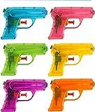 KP 6 Pistolets à Eau de 12 cm, Cadeau pour Les fêtes d'anniversaire et...