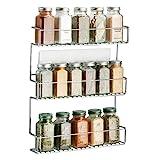 mDesign rangement épices à coller – range épices en métal avec trois...