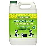 CLAIRLAND Bidon Anti-Dépôts Verts et Imperméabilisant des Toitures,...