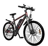 SAMEBIKE SY26 Vélos électriques avec Batterie 10AH Vélos de Montagne électriques 26 Pouces pour Adultes (Noir)