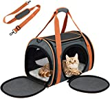 OKMEE Sac Transport Chat Lapin Chiot Solide Pliable, 4...